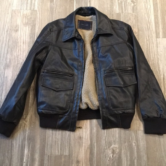 165ea7dfe Tommy Hilfiger Vegan Leather Bomber Jacket